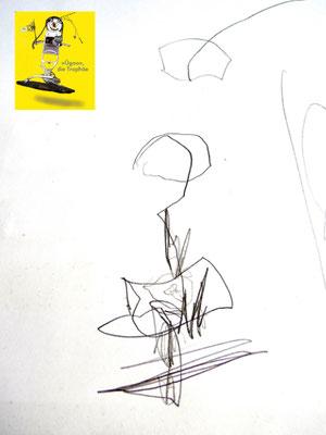 »Ügoo«, gezeichnet von Valentin (3 J.)