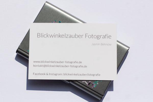 Visitenkarten Blickwinkelzauber Fotografie