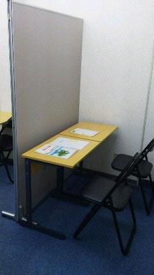 メイン教室の後ろに設けた特別ブース。用途は様々(笑)