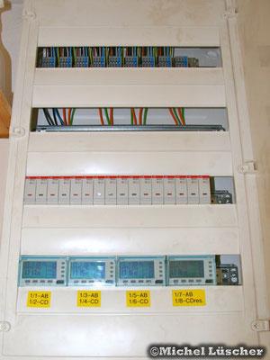 Steuerungssystem UV/1 im Erdgeschoss.