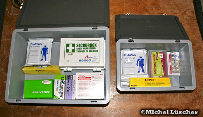 Erste Hilfebox