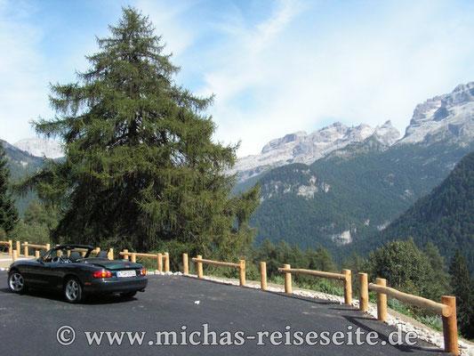Heimreise durch die Alpen