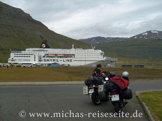 Endlich auf Island
