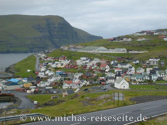Zwischenhalt in Torshavn