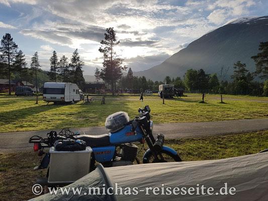 """Bardu Camping"" in Setermoen"