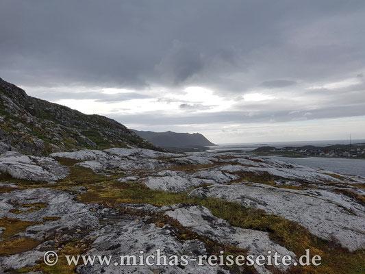 Am nächsten Tag, der übrigens seeehr windig war, haben wir die Insel Magerøya erkundet.