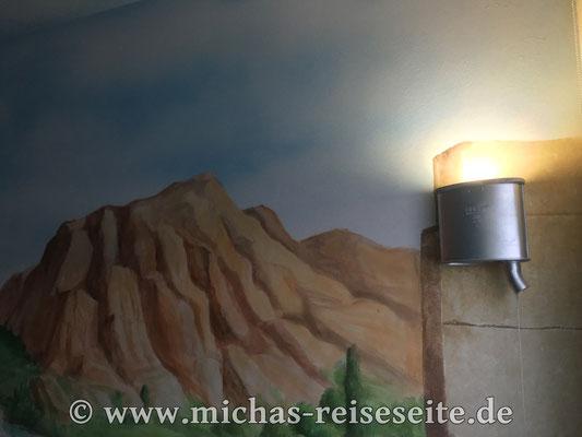 Wandmalerei und...