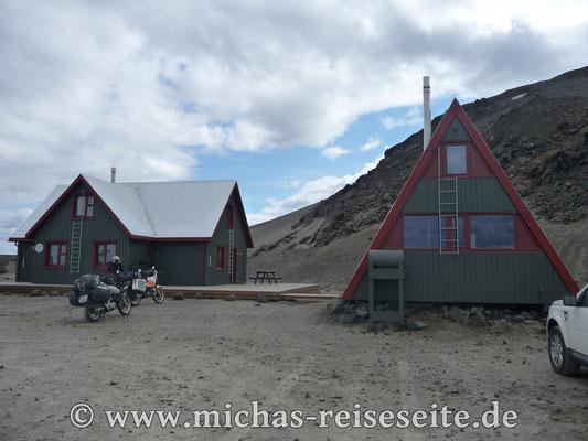 Aufbruch aus Askja - Jetzt aber schnell, denn am nächsten Tag müssen wir in Seydisfjördur sein...