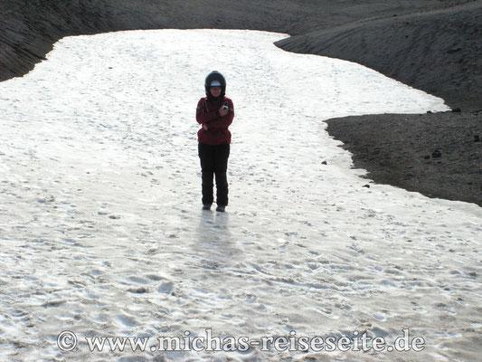 Anita und der Gletscher