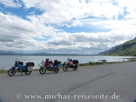 Nun geht es über die E6 und E69 weiter Richtung Magerøya