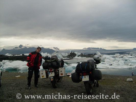 Gletschersee Jökulsarlon - echt schattig ;)