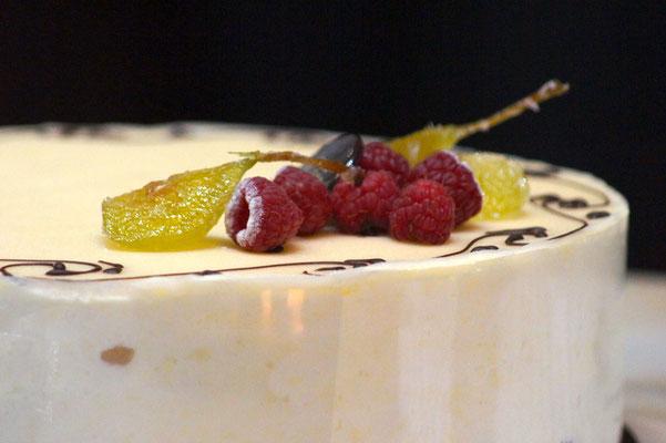 FRUITIER Framboise et Poire