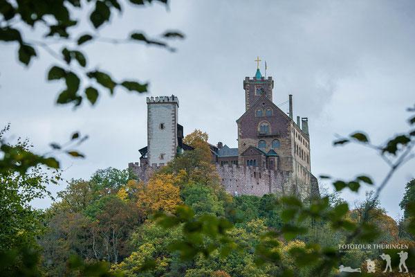 Blick auf die Wartburg, Foto: Melanie Kahl