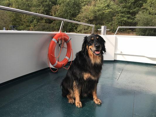Annabelle auf der Rurseeflotte