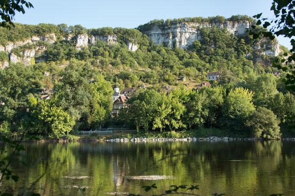 La Dordogne au pied de Mézels
