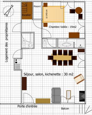 Plan 1er niveau Cuvier de St Martin