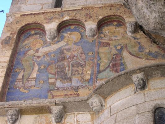 Fresque du 12ème siècle
