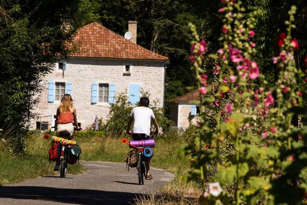 Vélos en location gîte du Cuvier de Saint Martin