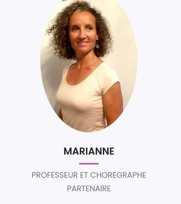 Marianne Goujon danse classiqque Châteauneuf du pape