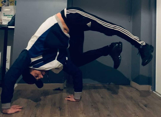 Kyllian Duroux Breakdance Chateauneuf du pape
