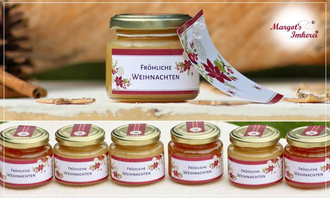 Honig - süße Grüße zu Weihnachten aus Margots Imkerei