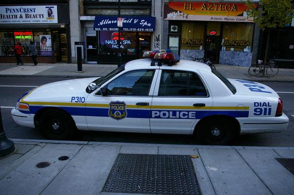 La police de Philly !