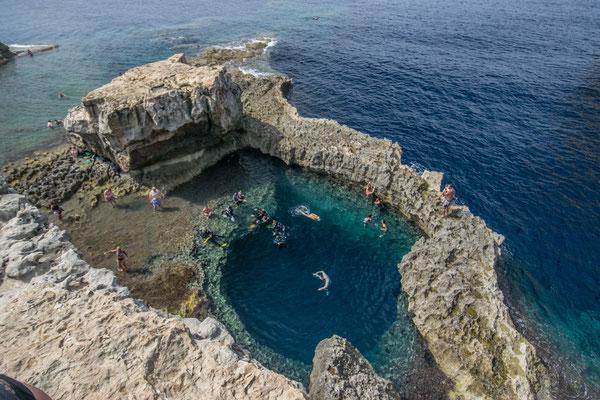 Supber sport de plongée à Gozo !