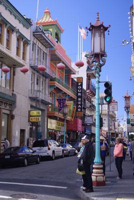Le Quartier Chinois de San Francisco !