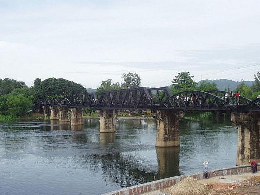 Le pont de la Rivière Kwai - Source : Audrey - Flickr.com