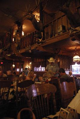 L'intérieur du Big Texan Ranch !