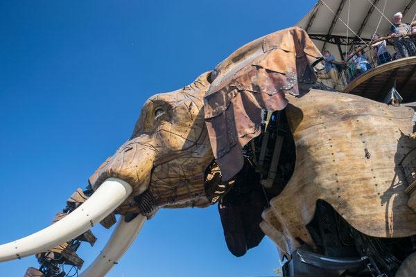 Le Grand Elephant des Machines de l'Île à Nantes
