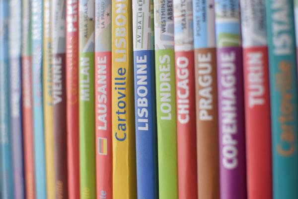 Notre collection très colorée de Cartoville