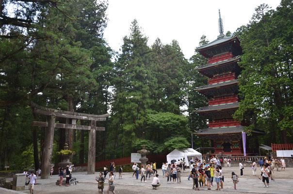 Visite de Nikko au Japon
