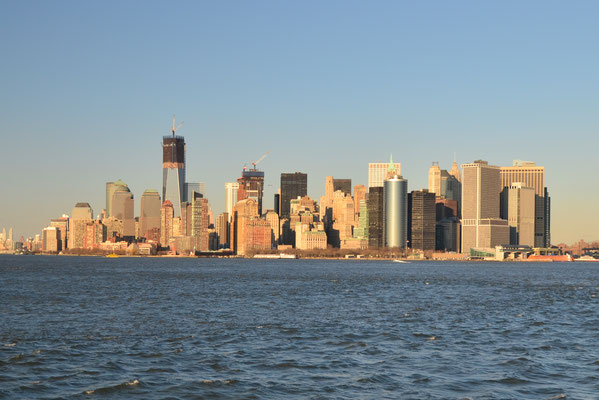 Vue sur la Skyline de New York