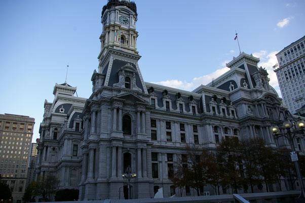 La mairie de Philadelphie !