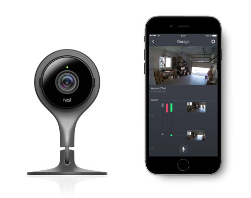 La Nest Cam est l'une des incontournables ! / Crédit Photo : Nest