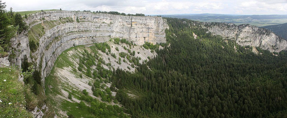 Le Creux du Van - By Pmau (Own work) [CC BY-SA 4.0 (http://creativecommons.org/licenses/by-sa/4.0)], via Wikimedia Commons