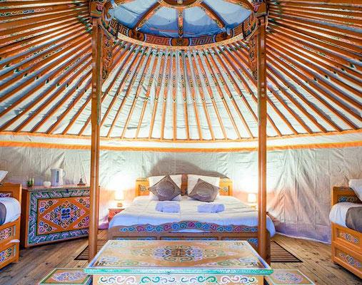 Dormir dans une yourte  en Gironde