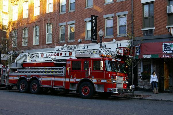 Les camions de pompier sont magnifiques aux USA