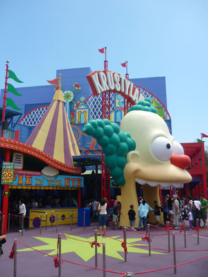 Le parc d'attractions d'Universal Studios Hollywood