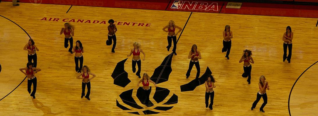 Voir un match de basket des Raptors !