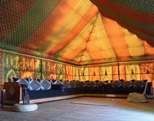 Dormir dans une tente Caïdale en Gironde