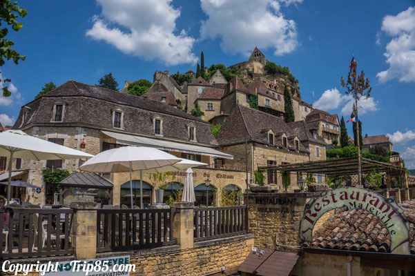 Beynac est l'un des plus beaux villages de France