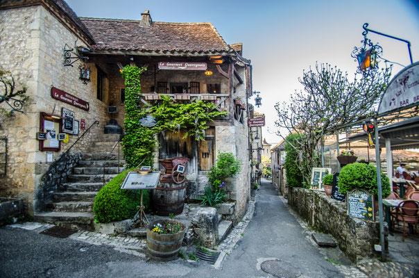 Le centre historique de Saint-Cirq Lapopie