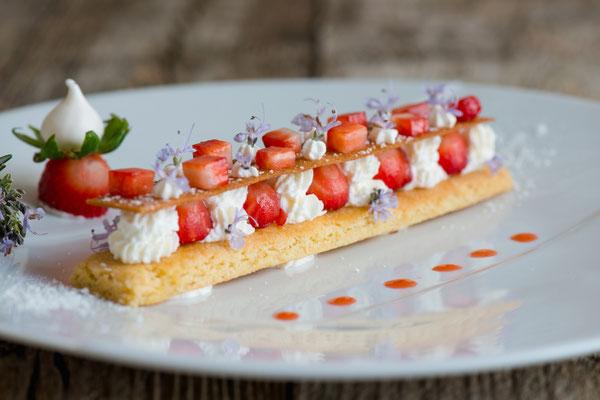 Dessert Didier Casaguana © Anne Lanta Château des Vigiers