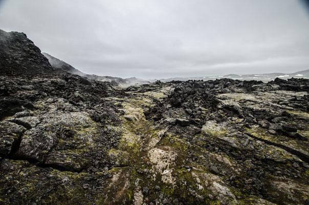 champs de lave de Leirhnajutur, Islande
