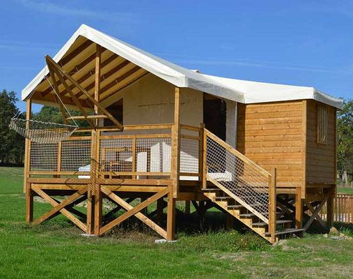 Dormir dans une cabane sur pilotis en Gironde