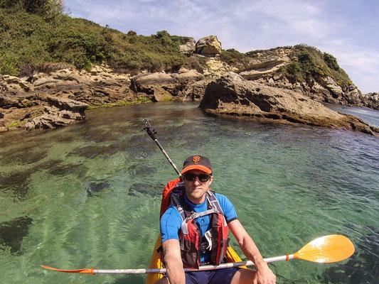 Sortie Kayak à Hendaye
