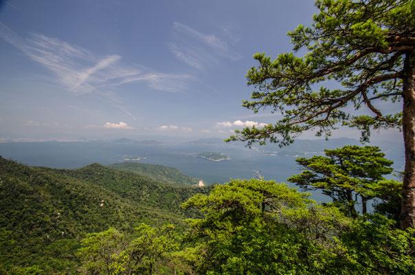 Le Mont Misen, Japon