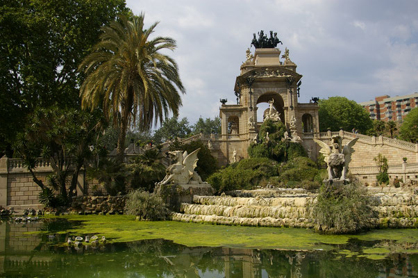 Le parc de la Ciutadella !